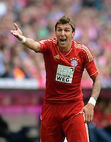 FUSSBALL   1. BUNDESLIGA  SAISON 2012/2013   3. Spieltag FC Bayern Muenchen - FSV Mainz 05     15.09.2012 Mario Mandzukic (FC Bayern Muenchen)