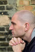 English writer China Mi&eacute;ville photographed in London / L'&eacute;crivain anglais China Mi&eacute;ville photographi&eacute; &agrave; Londres.<br /> Pour / For El Pa&iacute;s - Madrid.<br /> <br /> <br /> for El Pa&iacute;s.<br /> January 2017.
