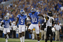 The University of Kentucky hosted the University of Souther Mississippi in the season opener, Saturday, Sept. 03, 2016 at The New Commonwealth Stadium in Lexington.<br />  <br /> Kentucky lost the game 44-35. This gallery feature action from the first half.