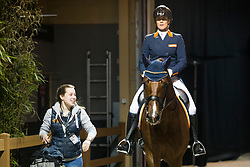 Witte-Vrees Madeleine, NED, Cennin<br /> Indoor Brabant 2018<br /> © Hippo Foto - Sharon Vandeput<br /> 9/03/18