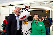Minister for Agriculture Simon Coveney at The National Ploughing Championships 2014
