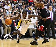 NBA Indiana Pacers vs Chicago Bulls-Indianapolis, Indiana