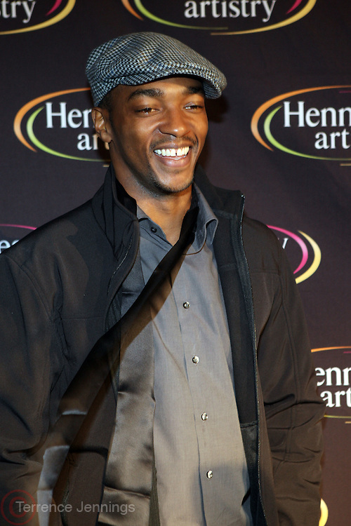 Anthony Mackie at The Hennessey Artistry Concert Series held at Terminal 5 on  October 7, 2009 in New York City