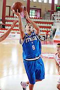 DESCRIZIONE : Teramo Giochi del Mediterraneo 2009 Mediterranean Games Italia Italy Montenegro Preliminary Men<br /> GIOCATORE : Daniele Cinciarini<br /> SQUADRA : Italia Italy<br /> EVENTO : Teramo Giochi del Mediterraneo 2009<br /> GARA : Italia Italy Montenegro<br /> DATA : 29/06/2009<br /> CATEGORIA : Tiro<br /> SPORT : Pallacanestro<br /> AUTORE : Agenzia Ciamillo-Castoria/G.Ciamillo<br /> Galleria : Giochi del Mediterraneo 2009<br /> Fotonotizia : Teramo Giochi del Mediterraneo 2009 Mediterranean Games Italia Italy Montenegro Preliminary Men<br /> Predefinita :
