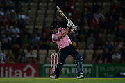 Tom Helm of Middlesex batting during the Vitality T20 Blast South Group match between Hampshire County Cricket Club and Middlesex County Cricket Club at the Ageas Bowl, Southampton, United Kingdom on 20 July 2018. Picture by Dave Vokes.