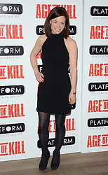 Anna Acton attends Age of Kill VIP Screening at the Ham Yard Hotel, Soho, London on Wednesday 1 April 2015