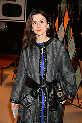 Lara Bohinc at the 2017 PAD Collector's Preview, Berkeley Square, London, England. 02 October 2017.