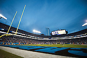 January 3, 2016: Carolina Panthers vs Tampa Bay Buccaneers. Carolina Panthers' Bank of America Stadium