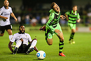 Forest Green Rovers Elliott Frear (11) during the Vanarama National League match between Forest Green Rovers and Eastleigh at the New Lawn, Forest Green, United Kingdom on 13 September 2016. Photo by Shane Healey.