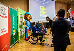 H.E. Mr Masaharu Yoshida, ambassador of Japan to Slovenia and Kensuke Tsuchiya of Toyota Slovenija during Closing ceremony at Day 4 of 16th Slovenia Open - Thermana Lasko 2019 Table Tennis for the Disabled, on May 11, 2019, in Thermana Lasko, Lasko, Slovenia. Photo by Vid Ponikvar / Sportida