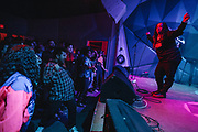 KayelaJ playing Girl Fest 2019 at Holocene in Portland, OR. Photo by Jason Quigley