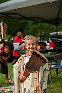 Caddo Indians, Native Americans, kids, girl, grandaughter of Caddo Nation Vice Chairman Philip Smith, J T Morrow Pow Wow, Binger Oklahoma