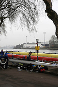 Putney/Barnes,  Great Britain, GV's around Putney Hard, morning of the 2008 Head of the River Race. Raced from Mortlake to Putney, over the Championship Course.  15/03/2008  [Mandatory Credit. Peter Spurrier/Intersport Images] Rowing Course: River Thames, Championship course, Putney to Mortlake 4.25 Miles,
