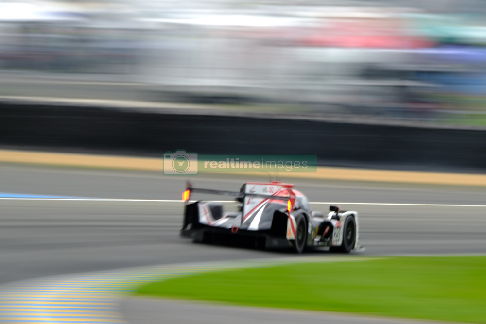 June 15, 2018 - Le Mans, Sarthe, France - Panis Barthez Competition LIGIER JSP217 Gibson Driver THIMOTHE BURET (FRA) in action during the 86th edition of the 24 hours of Le Mans 2nd round of the FIA World Endurance Championship at the Sarthe circuit at Le Mans - France (Credit Image: © Pierre Stevenin via ZUMA Wire)