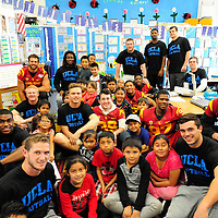 USC UCLA 186th Street School Visit