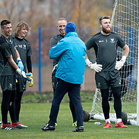 St Johnstone Training…09.11.18   McDiarmid Park, Perth<br />