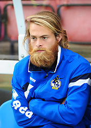Bristol Rovers' Stuart Sinclair - Photo mandatory by-line: Neil Brookman - Mobile: 07966 386802 - 11/10/2014 - SPORT - Football - Aldershot - Recreation Ground - Aldershot Town v Bristol Rovers - Vanarama Football Conference