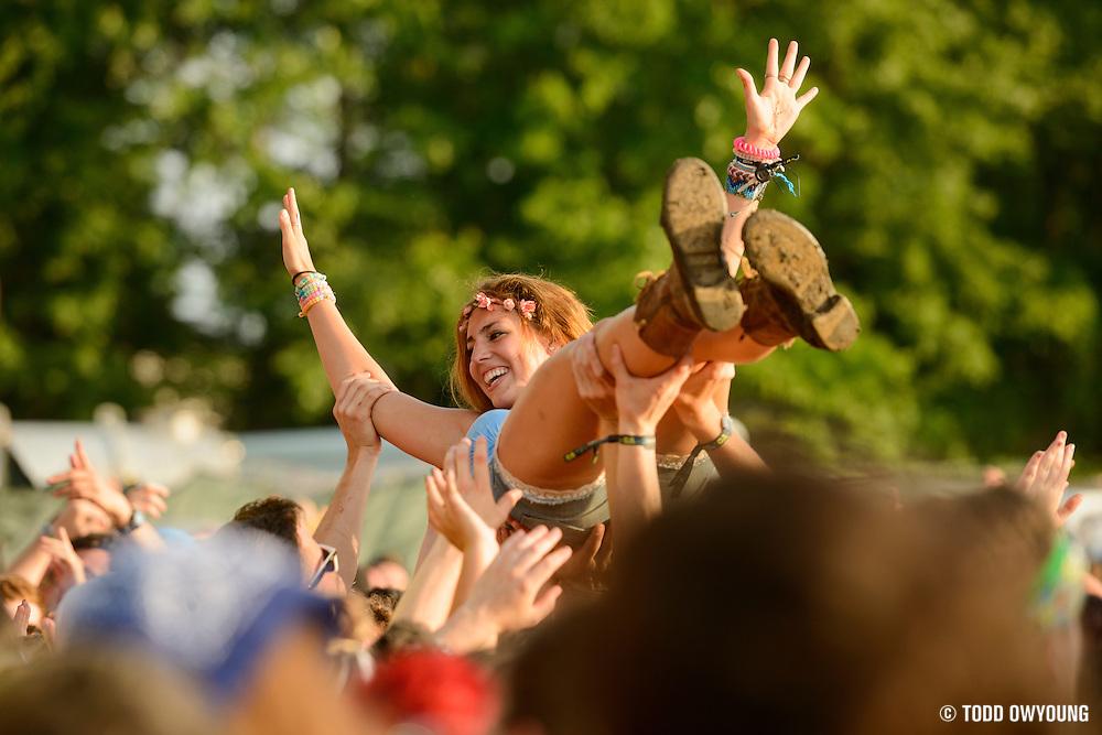 at the Firefly Music Festival in Dover, DE on June 18, 2015.
