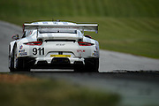 August 23, 2015: IMSA GT Race: Virginia International Raceway  #911 Tandy, Pilet, Porsche NA 911 RSR GTLM
