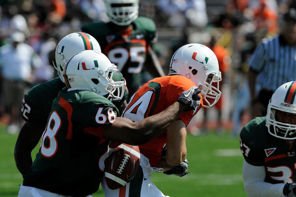 2011 Miami Hurricanes Spring Football @ Traz-Powell