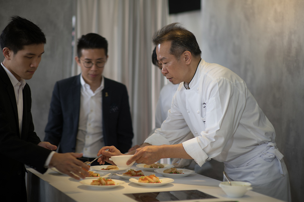 Chef's table by Marriott at Taste of Hong Kong 2018 - Event Highlights for Marriott Group<br /> Photo By  MozImages