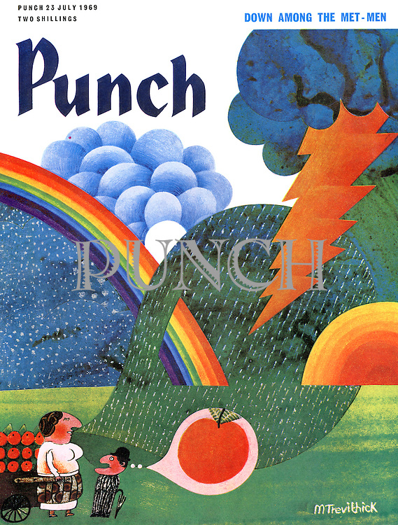 Punch (Front cover, 23 July 1969)