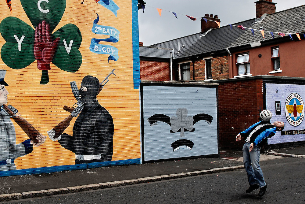 sandy row, belfast, northern ireland, 2006