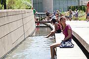 Millennium park, Chicago, IL, USA