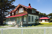 Point Cabrillo Lighhouse Station, Lighhouse Keeper's residence, California