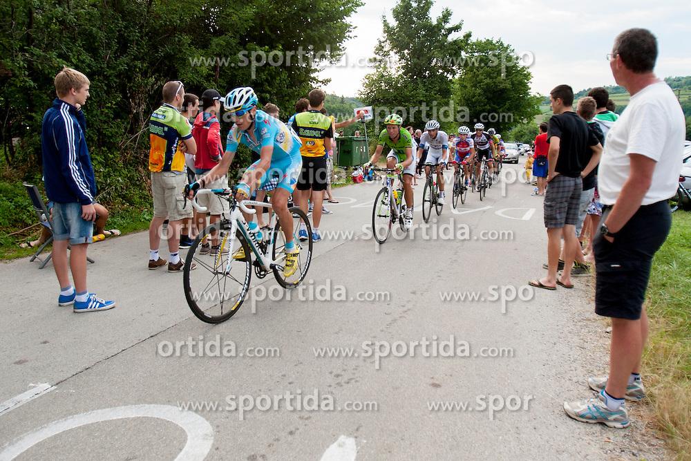 Jani Brajkovic of Pro Team Astana during Slovenian National Championship in Road Cycling, on June 23, 2013, in Gabrje, Slovenia. (Photo by Urban Urbanc / Sportida.com)