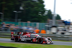 June 17, 2018 - Le Mans, Sarthe, France - Rebellion Racing Rebellion R13 Gibson Driver THOMAS LAURENT (FRA) in action during the 86th edition of the 24 hours of Le Mans 2nd round of the FIA World Endurance Championship at the Sarthe circuit at Le Mans - France (Credit Image: © Pierre Stevenin via ZUMA Wire)