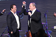 ANTIBES, FRANCE - MAY 24: Brett Ratner and Harvey Weinstein attend amfAR's Cinema Against AIDS auction at Hotel Du Cap on May 24, 2012 in Antibes, France.  (Photo by Tony Barson/FilmMagic)