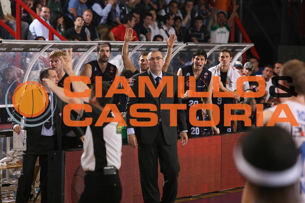 DESCRIZIONE : Napoli Lega A1 2006-07 Playoff Quarti di Finale Gara 2 Eldo Napoli Lottomatica Virtus Roma <br /> GIOCATORE : Repesa <br /> SQUADRA : Lottomatica Virtus Roma <br /> EVENTO : Campionato Lega A1 2006-2007 Playoff Quarti di Finale Gara 2<br /> GARA : Eldo Napoli Lottomatica Virtus Roma <br /> DATA : 20/05/2007 <br /> CATEGORIA : Ritratto <br /> SPORT : Pallacanestro <br /> AUTORE : Agenzia Ciamillo-Castoria/G.Ciamillo