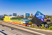 Discovery Cube Science Center and Museum off the 5 Freeway in Santa Ana