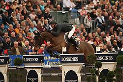 Estermann, Paul (SUI), Castlefield Eclipse<br /> Leipzig - Partner Pferd 2016<br /> Grosser Preis Sparkassen Leipzig und Longines Weltcup<br /> © www.sportfotos-lafrentz.de / Stefan Lafrentz