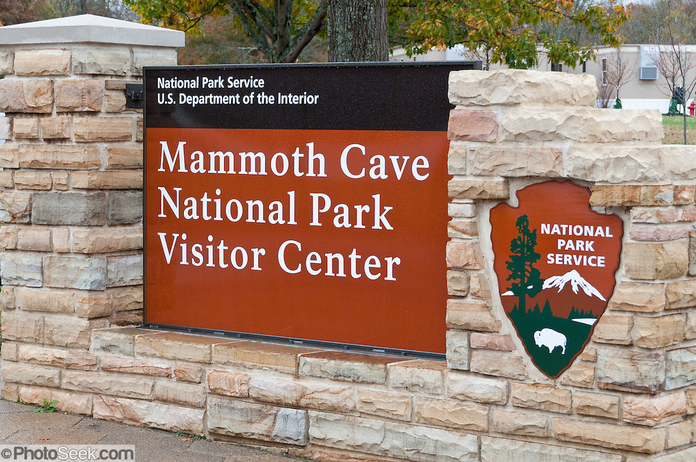 Mammoth Cave National Park was established in 1941 in Edmonson County, Kentucky, USA and was declared a UNESCO World Heritage Site in 1981 and international Biosphere Reserve 1990. With over 390 miles (630 km) of passageways, the Mammoth-Flint Ridge Cave System is the longest known in the world. Mammoth Cave developed in thick Mississippian-aged limestone strata capped by a layer of Big Clifty Sandstone. Descending limestone layers include the Girkin Formation, Saint Genevieve Limestone, and Saint Louis Limestone.