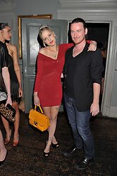 PEACHES GELDOF and MARK FAST at 'Summer Goes By FAST,' a party celebrating London-based Canadian knitwear designer Mark Fast, held at Paradise, 19 Kilburn Lane, Kensal Green, London on 28th July 2011.