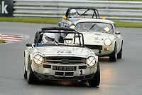 #84 Rob Roodhouse Triumph TR6 during the MGCC Thoroughbred Sportscar Championship at Oulton Park, Little Budworth, Cheshire, United Kingdom. September 03 2016. World Copyright Peter Taylor/PSP.