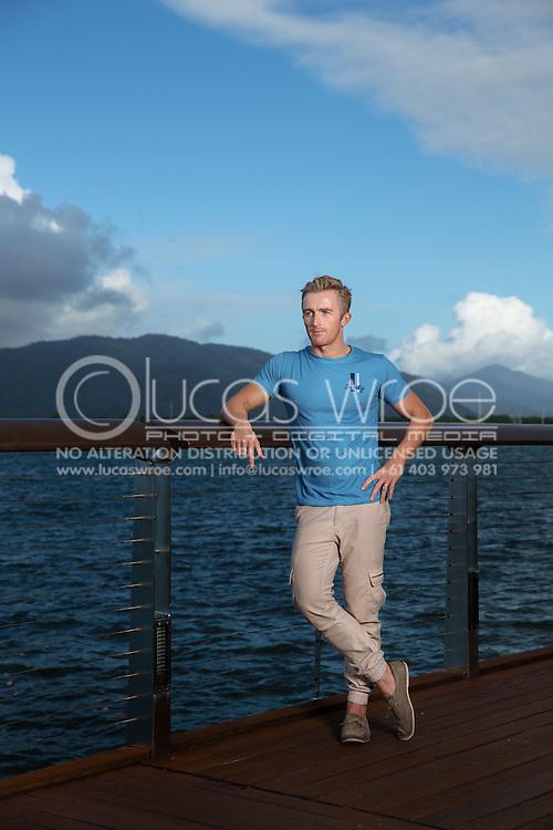 Matty White (AUS), June 5, 2014 - TRIATHLON : SCODY ATHLETES / Cairns Airport Adventure Festival, Caffiend and Harbour, Cairns, Queensland, Australia. Credit: Lucas Wroe