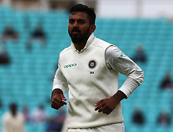 September 11, 2018 - London, Greater London, United Kingdom - Keaton.L.Rahul of India.during International Specsavers Test Series 5th Test match Day Five  between England and India at Kia Oval  Ground, London, England on 11 Sept 2018. (Credit Image: © Action Foto Sport/NurPhoto/ZUMA Press)
