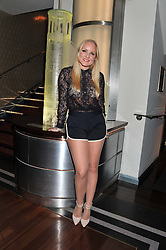 KERRY ELLIS at the What's On Stage Awards 2012 held at the Prince of wales Theatre, London on 19th February 2012.