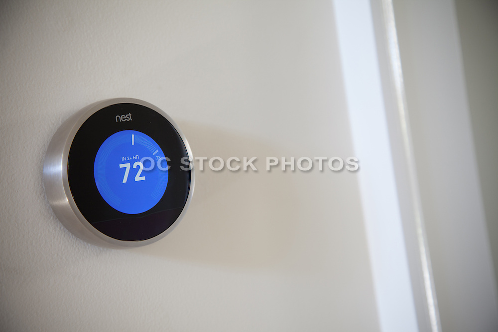 Energy Efficient Nest Thermostat for Homes