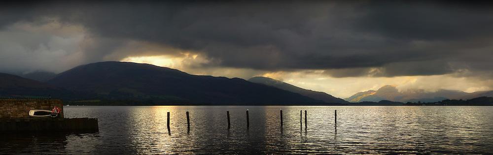 Loch Lomond from Duck bay