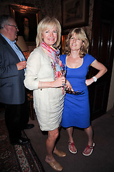 Left to right, JULIA MAROZZI and RACHEL JOHNSON  at a party to celebrate the publication of Gentlemen & Blackguards by Nicholas Foulkes at Mark's Club, 46 Charles Street, London W1 on 24th May 2010.
