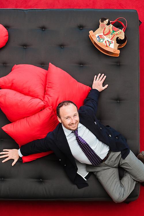 05 MAY 2011 - Scandicci (FI) - Lorenzo Braccialini, dir. marketing della Braccialini