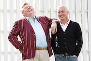 JAMES BOARDMAN / 07967642437.Paul Hird and Steve Gatting of Preston Nomads Cricket Club..