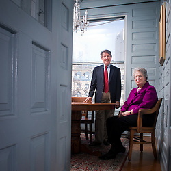 Joan Claybrook and Clarence Ditlow in the offices of Public Citizen in Washington DC February 18, 2013.