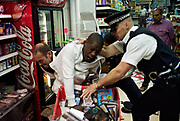 *NO UK USE* POLICE ARREST FOR POSSESSION OF MARJUANA. CHARGES OF INTENT TO SUPPLY WERE LATER DROPPED. THORNTON HEATH, 2007