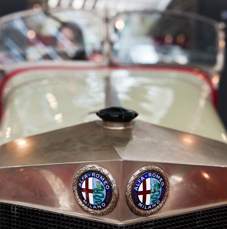 Milano Italy 23rd June 2010  Italian car manufacturer Alfa Romeo celebrates its 100th anniversary as the original company A.L.F.A was founded in Milan on June 24, 1910...***Agreed Fee's Apply To All Image Use***.Marco Secchi /Xianpix. tel +44 (0) 207 1939846. e-mail ms@msecchi.com .www.marcosecchi.com