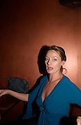 Michelle Gomez, 'How to lose Friends and alienate people' by Toby Young performed at the  Soho Theatre, party at Opium. 30 April 2003. © Copyright Photograph by Dafydd Jones 66 Stockwell Park Rd. London SW9 0DA Tel 020 7733 0108 www.dafjones.com